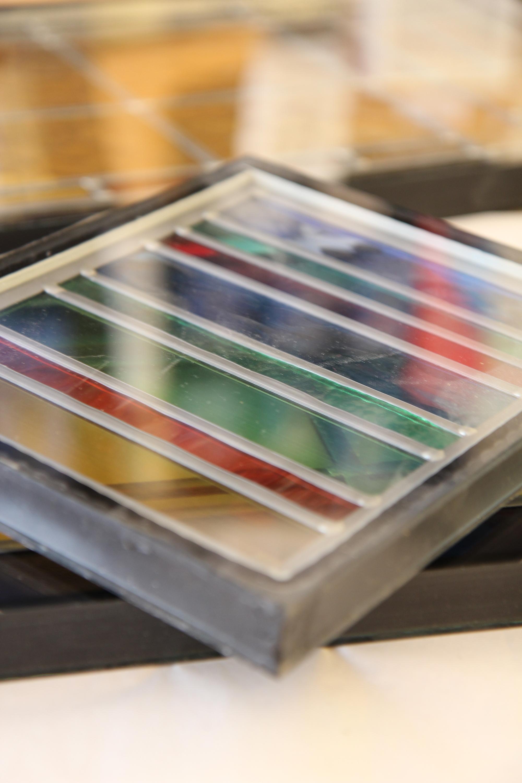 Vaak Isoleren   glas in lood   Glasstudio Indedag EL45